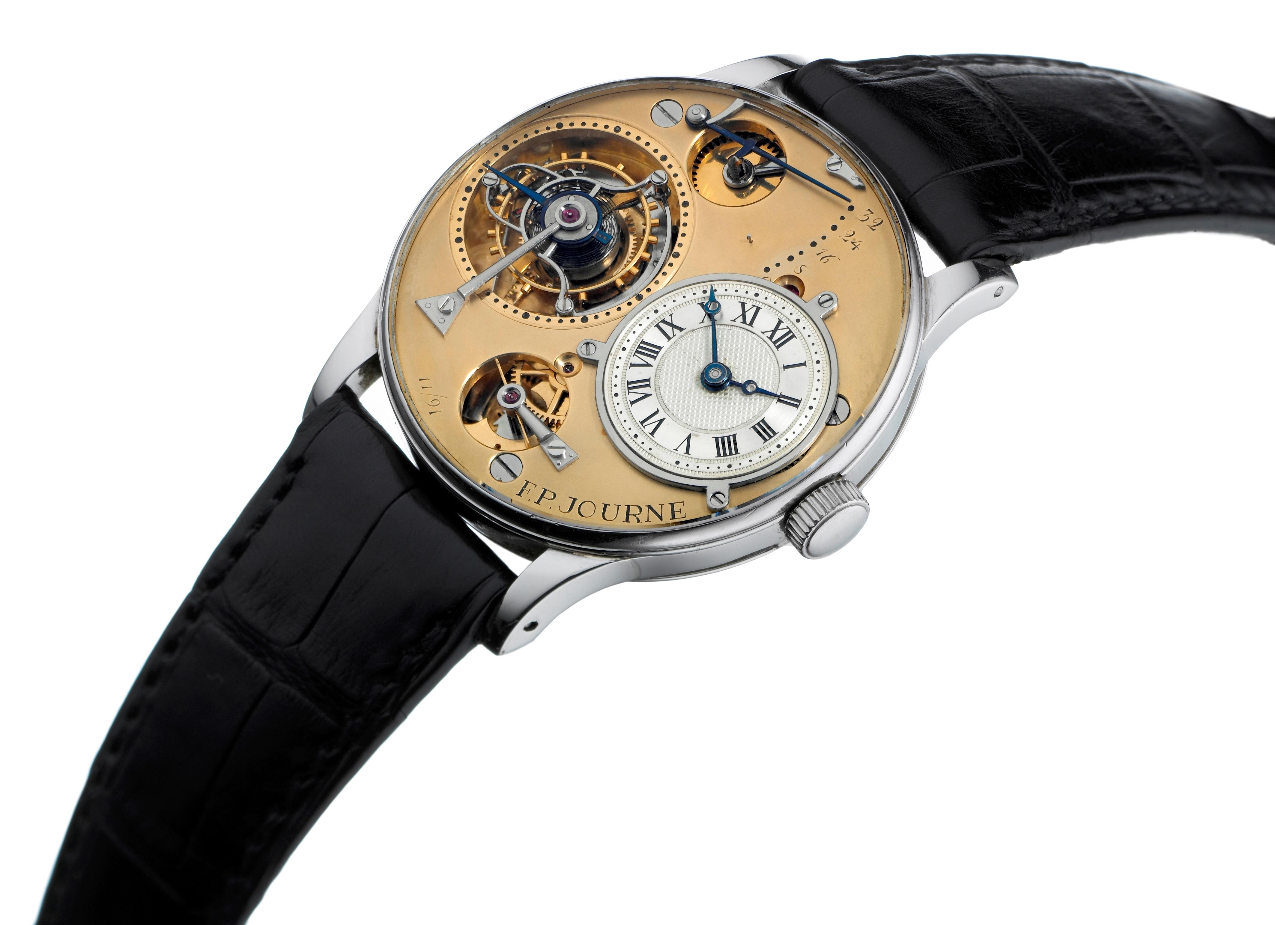 F. P. Journe's first tourbillon wristwatch
