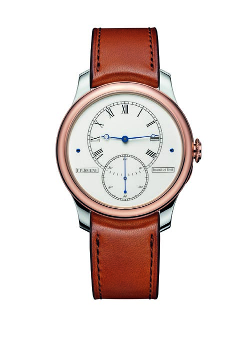 F. P. Journe celebrates 30th anniversary with Historical Anniversary Tourbillon wristwatch fashioned after his first pocket watch.