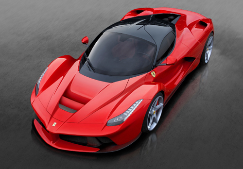 Ferrari-LaFerrari -- inspiration for the watch.