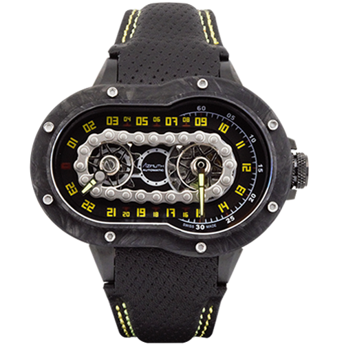 Azimuth SP-1 Crazy Rider motorcycle-inspired watch.