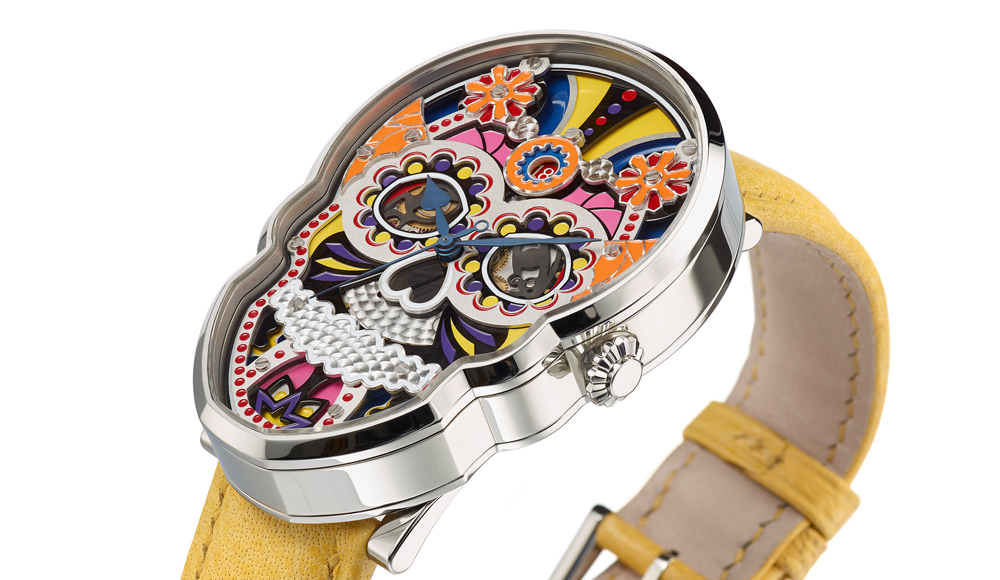 Fiona Kruger Skull watch