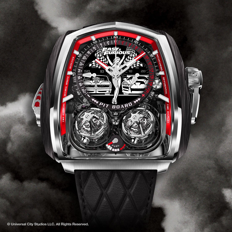 Jacob & Co. Fast & Furious Twin Turbo watch