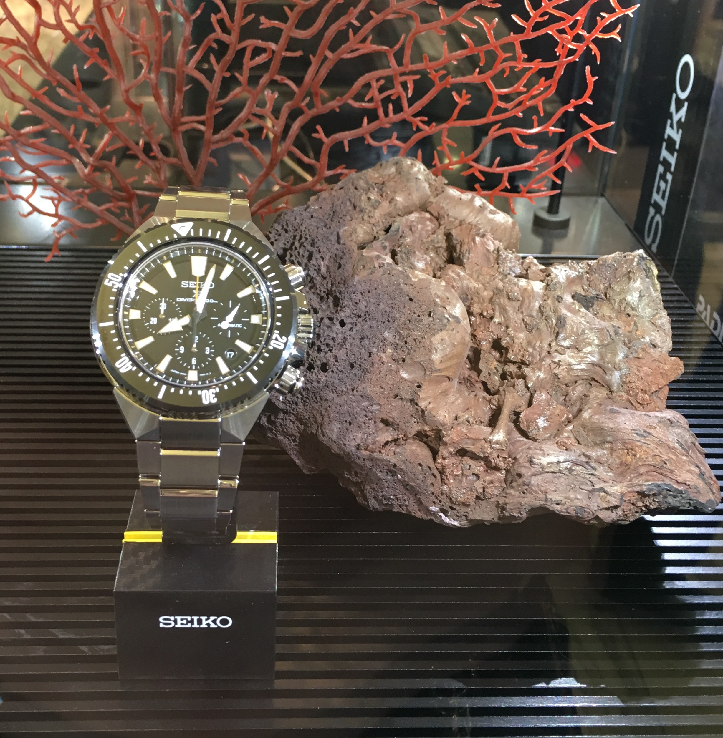 Seiko Prosper Diver's watches
