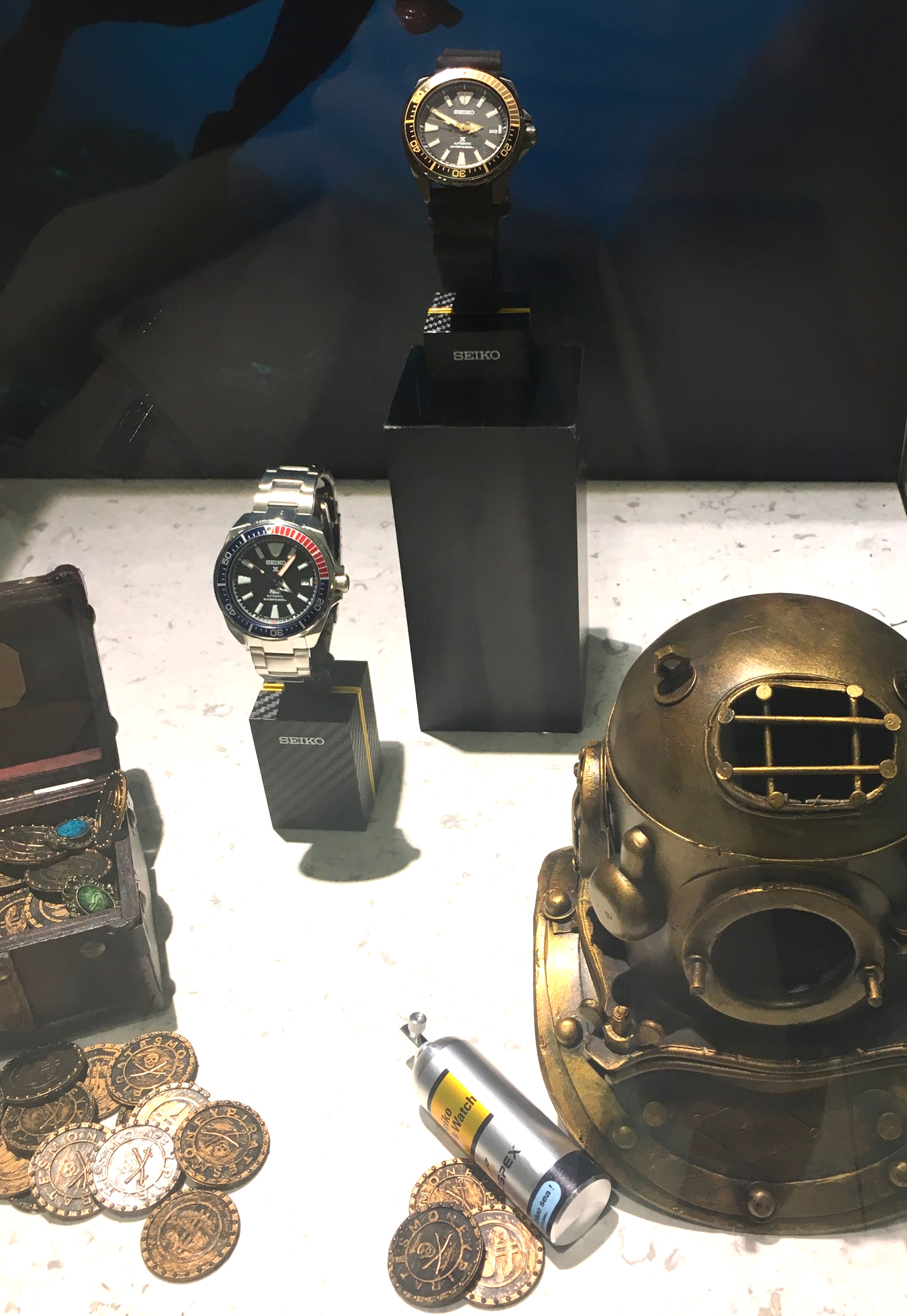 Seiko Prospex Challenge 2017 event in New York features the brand's entire dive watch series.
