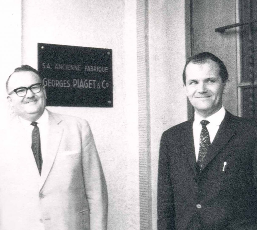 Gerald and Valentin Piaget