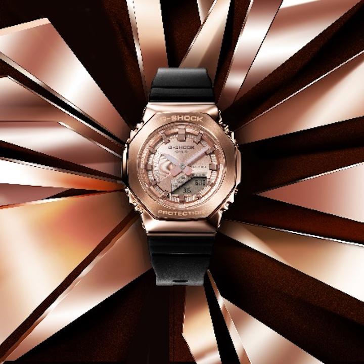 G-Shock Women's metal covered watches
