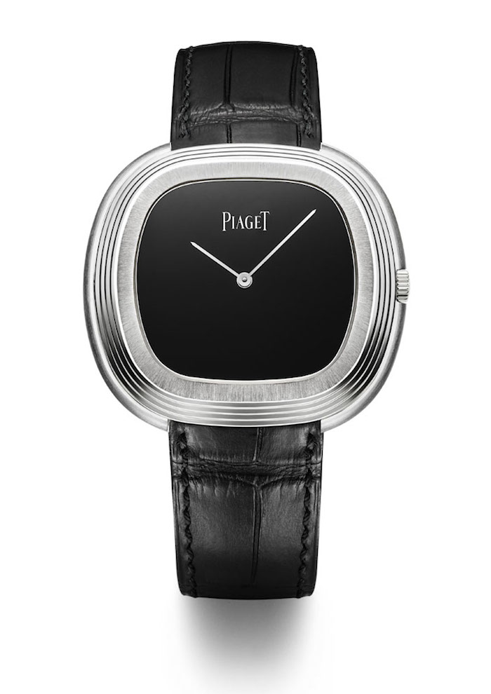 Piaget Black Tie Vintage Inspired watch-- based on a Piaget watch worn by Andy Warhol in the 1960's.