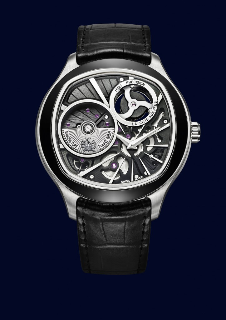 Piaget Emperador Coussin XL 700 P mechanical quartz watch.