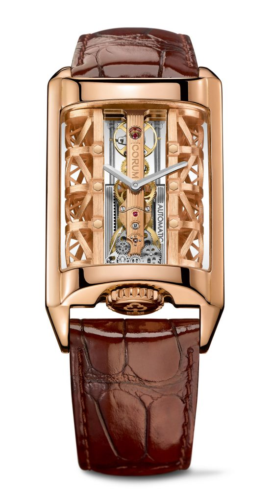 Just 88 pieces of the Corum Golden Bridge Stream watch will be made.