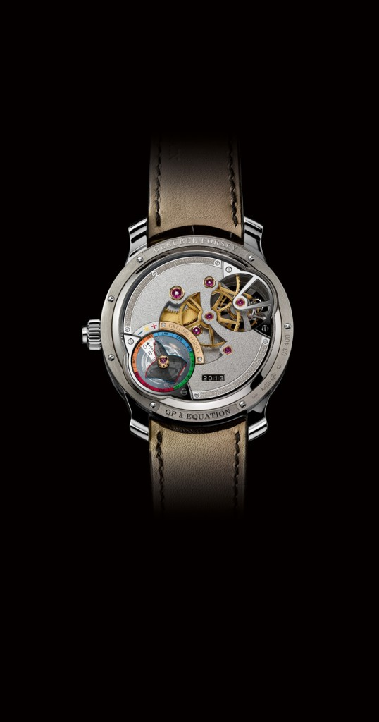 The Reverse side of the QP a' Equation of Time