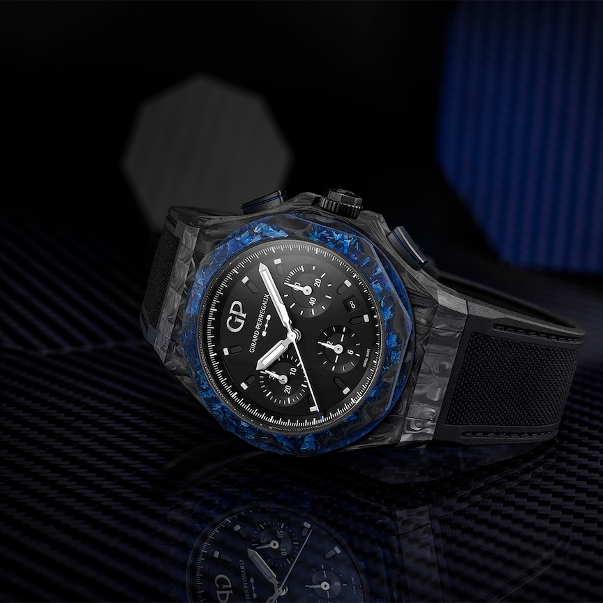 Girard-Perregaux Laureato Absolute Wired watch.