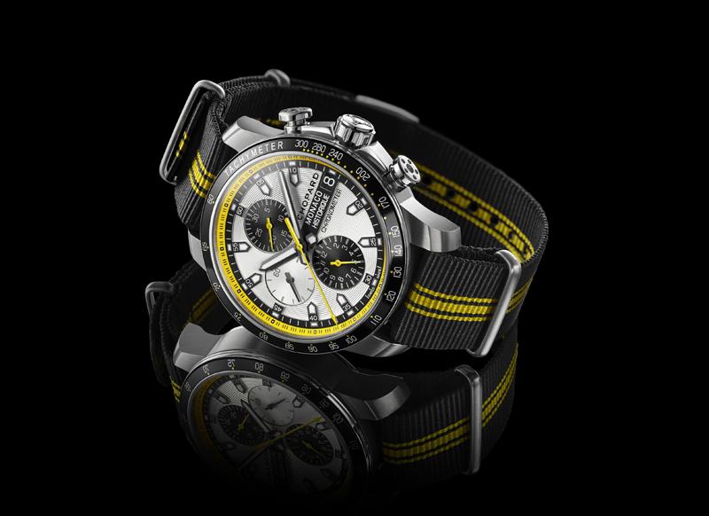 Chopard's new Grand Prix de Monaco Historique collection opens with a Chronograph model.