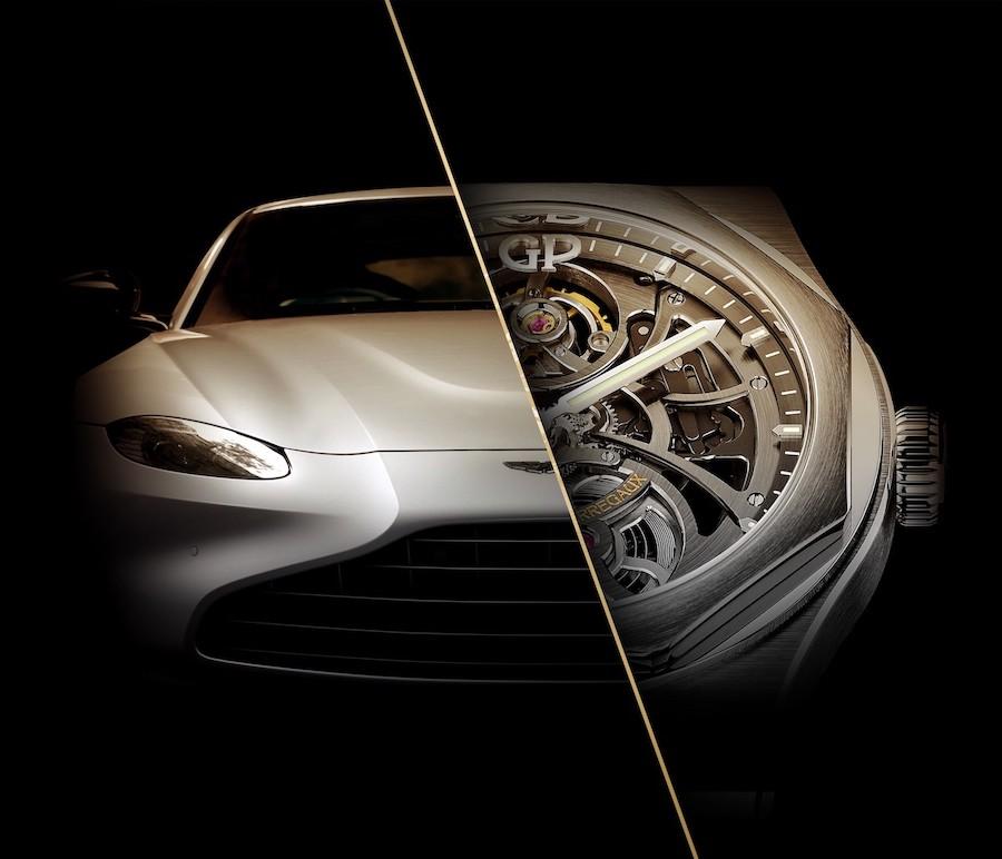 Girard-Perregaux teams with Aston Martin