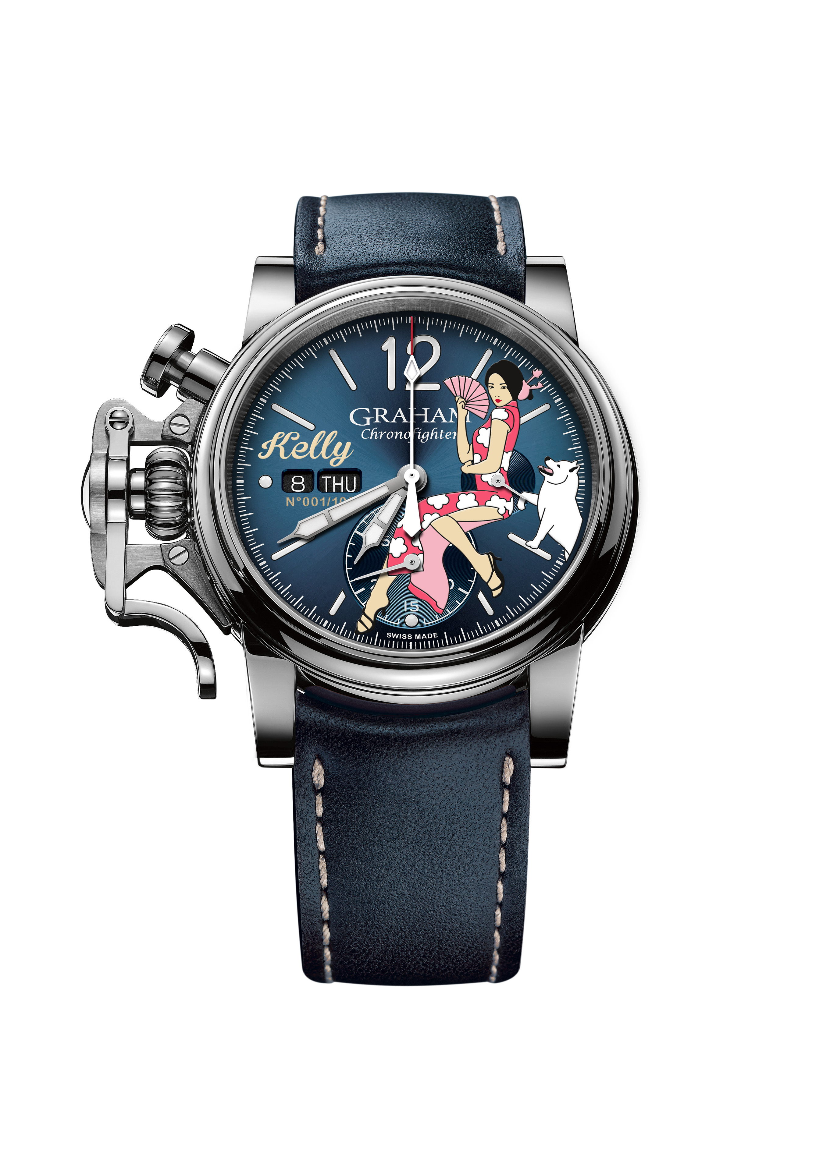 GRAHAM-Chronofighter-Vintage-Nose-Art-Kelly, Year of the Dog