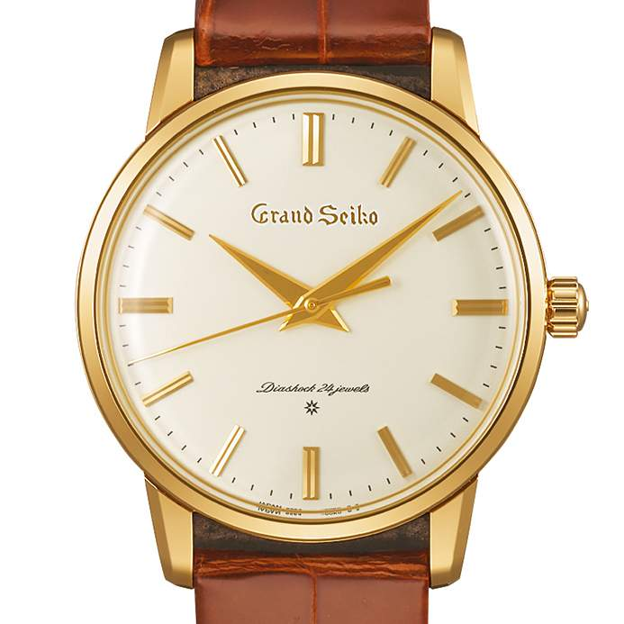 Top Six Men's Watches of 2017: Grand Seiko The Re-Creation of the First Grand Seiko