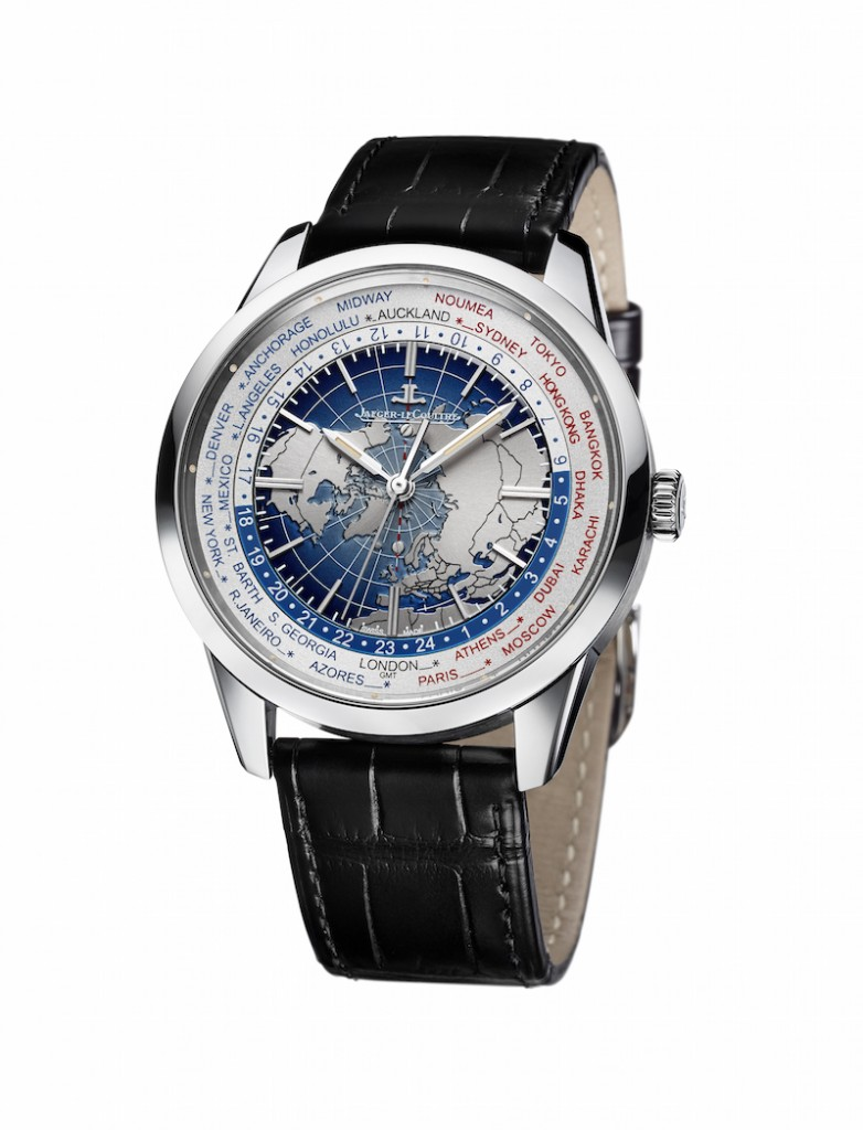 Geophysic Universal Time in stainless steel
