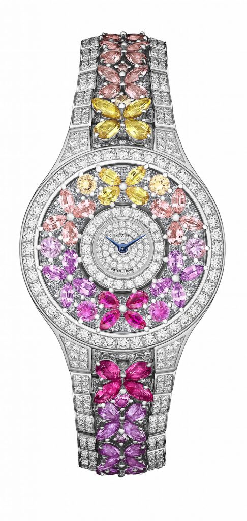 Graff Butterfly Rainbow watch