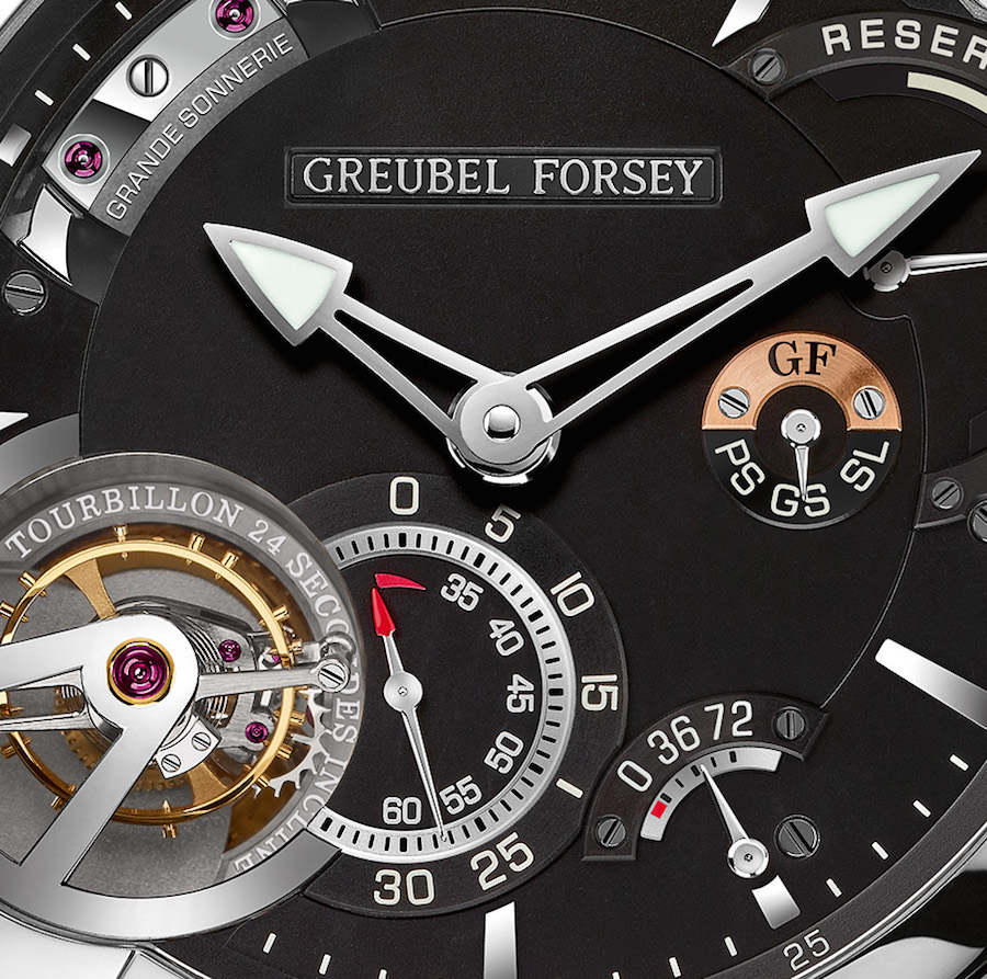 The Greubel Forsey Grande Sonnerie was 11 years in the making and has two patents pending.