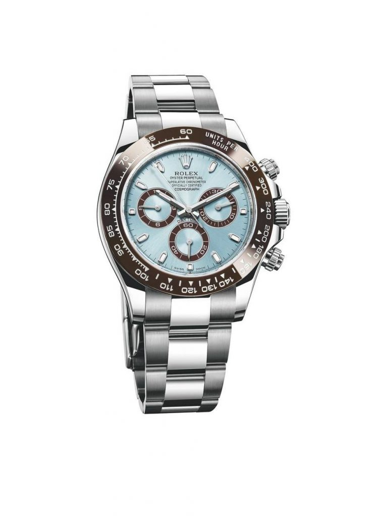 Grigor Dimitrov waers the Rolex Oyster Perpetual Cosmograph Daytona 40mm