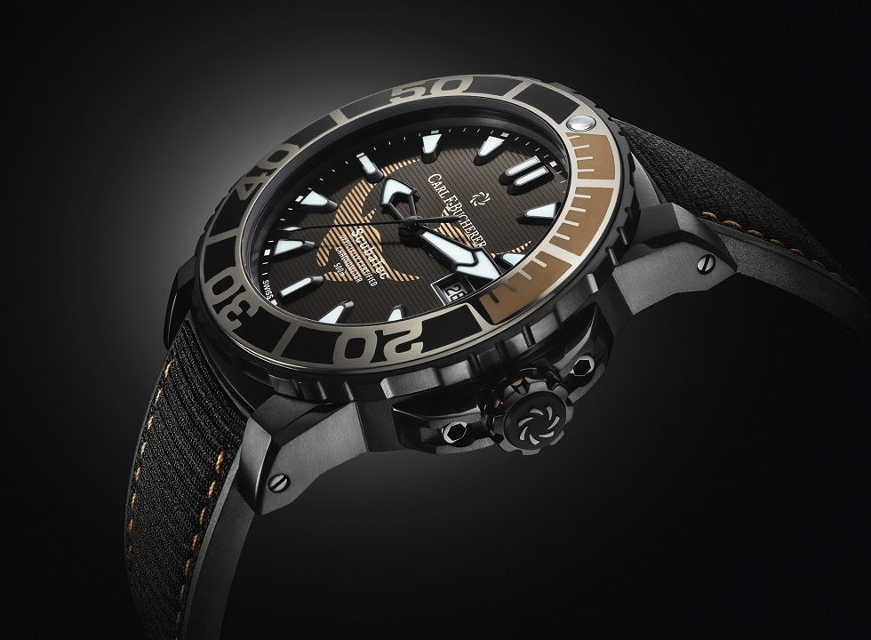 Carl F. Bucherer Patravi Scubatec Black Manta watch as seen at Baselworld 2019