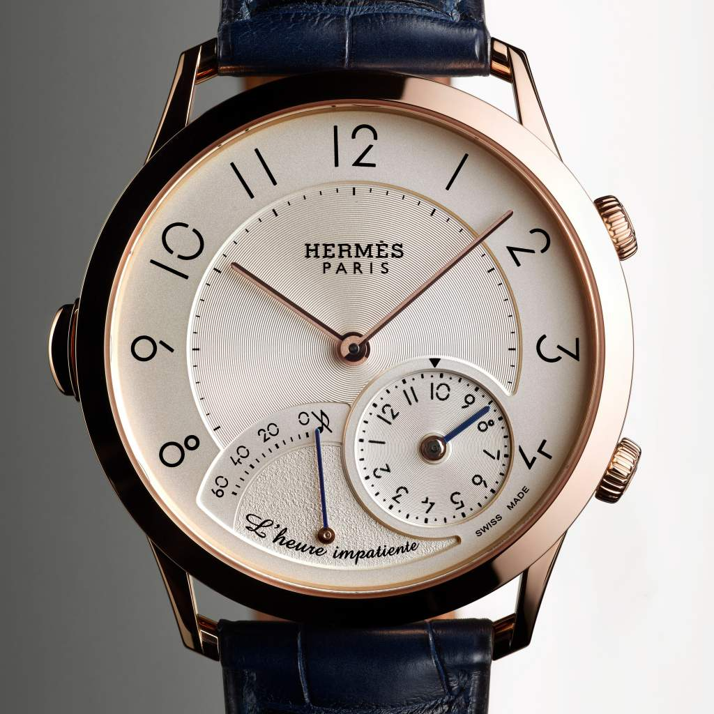 Top Six Men's Watches of 2017: Hermes Slim D'Hermes L'Heure Impatiente
