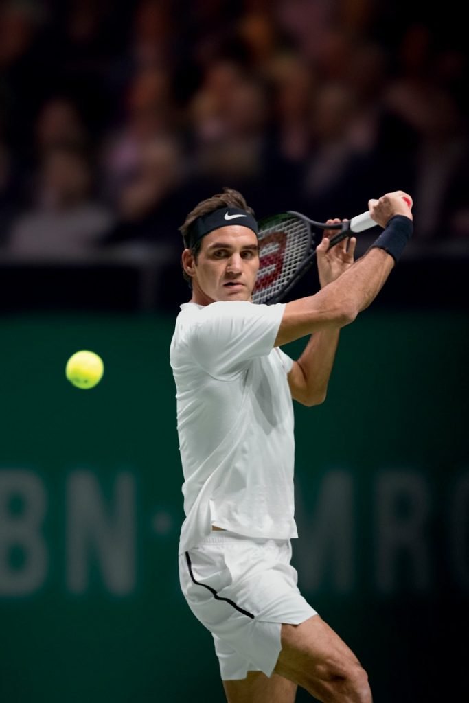 Roger Federer, Rolex brand ambassador, takes the No. 1 world ranking again thanks to his recent win in Rotterdam.