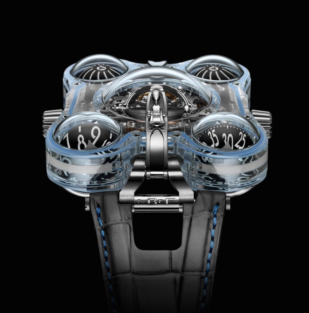 MB&F Horological Machine No. 6 Alien Nation watch -- with aliens inside.