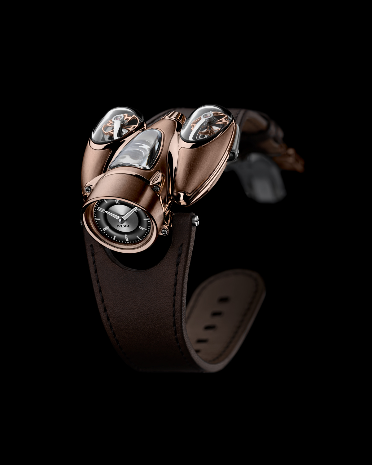MB&F HM9 Flow Red Gold Road Edition