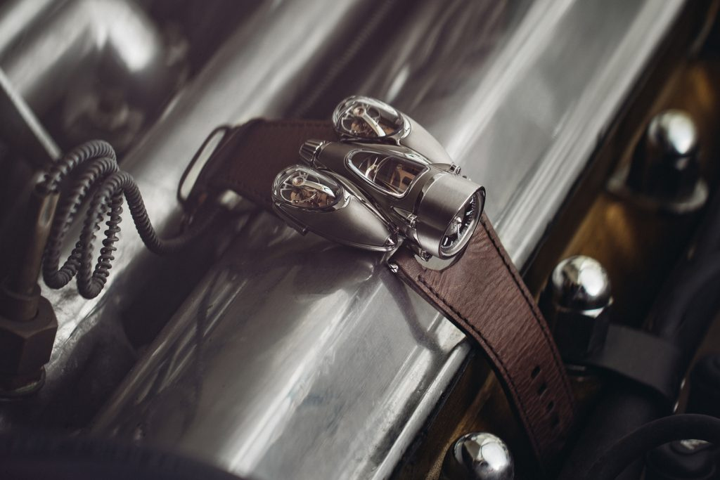 MB&F Horological Machine No. 9, Flow, Road version