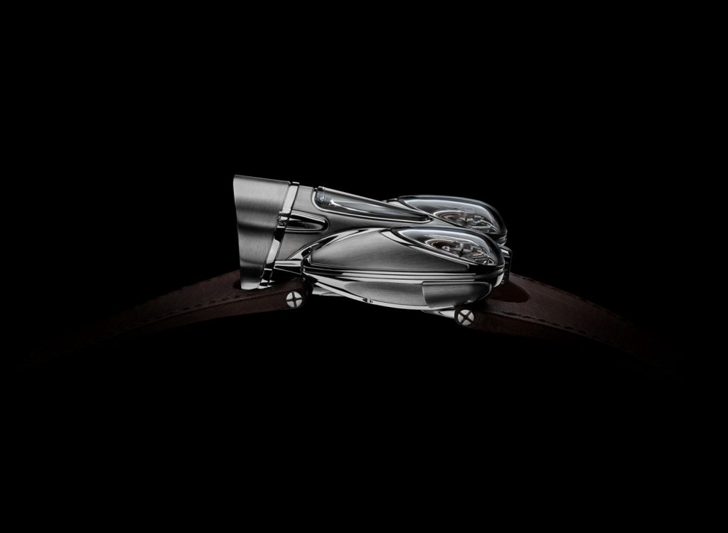 MB&F Horological Machine No. 9, Flow, Air version with black movement
