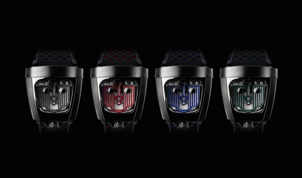 Four racing-color-inspired rocker arms are being offered