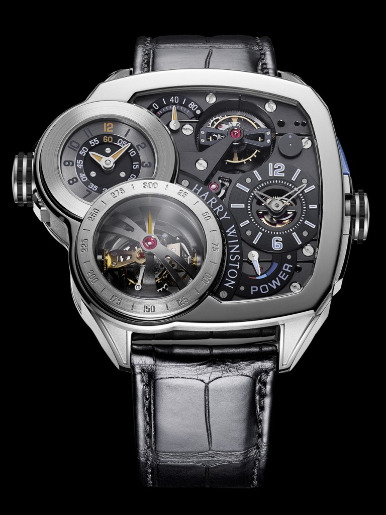 Harry Winston Histoire de Tourbillon 6 in white gold with black dial