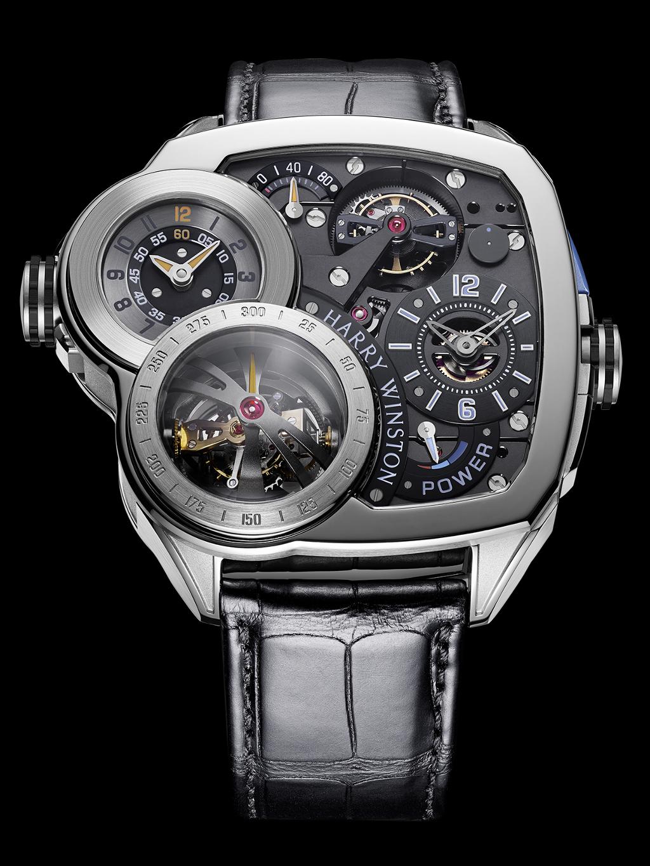 Harry Winston Histoire de Tourbillon 6 in white gold with black dial