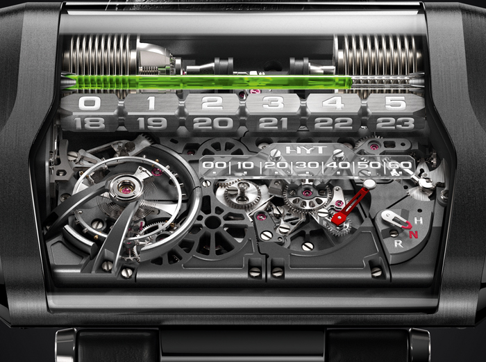 The new movement for this watch was created in cooperation with APRP