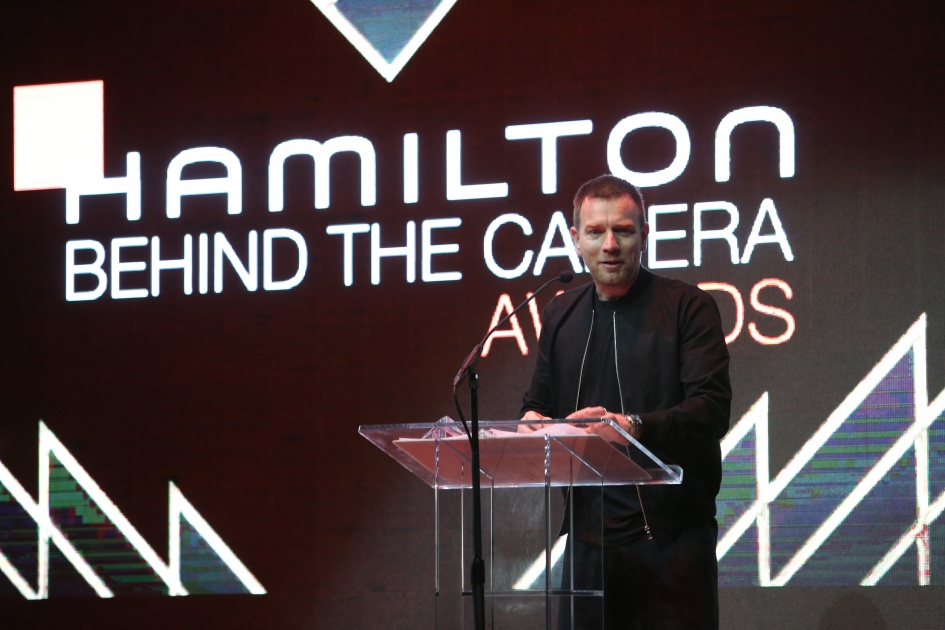 speaks onstage during the Hamilton Behind The Camera Awards presented by Los Angeles Confidential Magazine at Exchange LA on November 6, 2016 in Los Angeles, California. at Exchange LA on November 6, 2016 in Los Angeles, California.