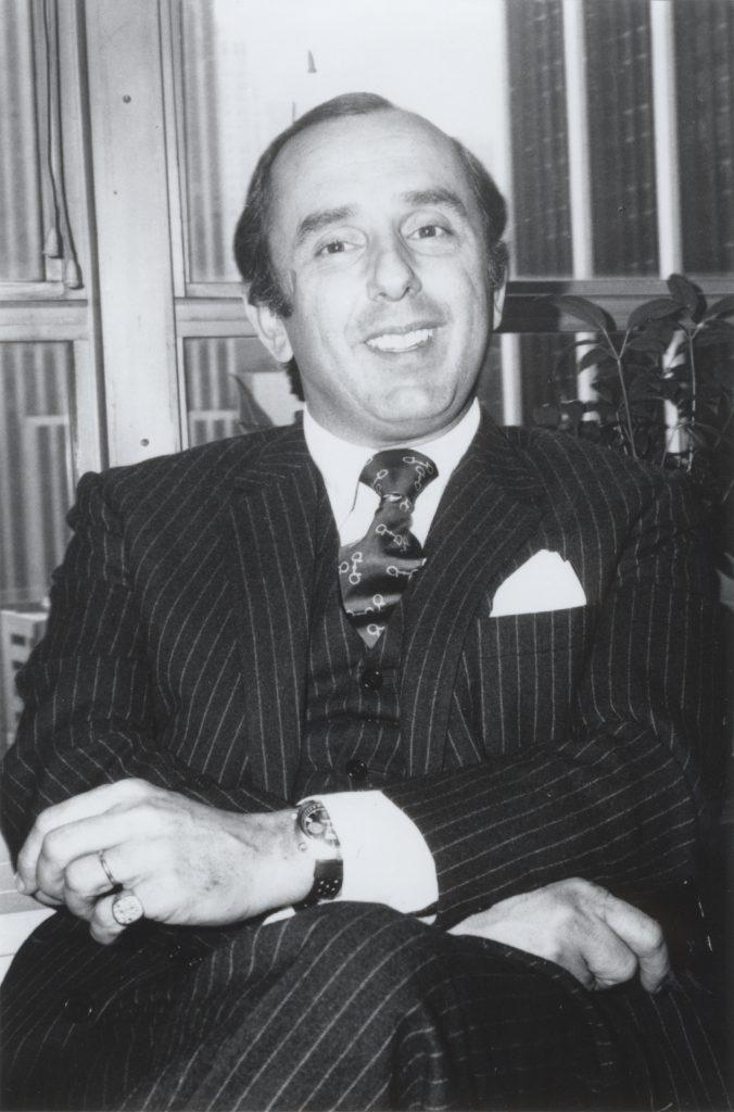 Jack Heuer in the 1970's.