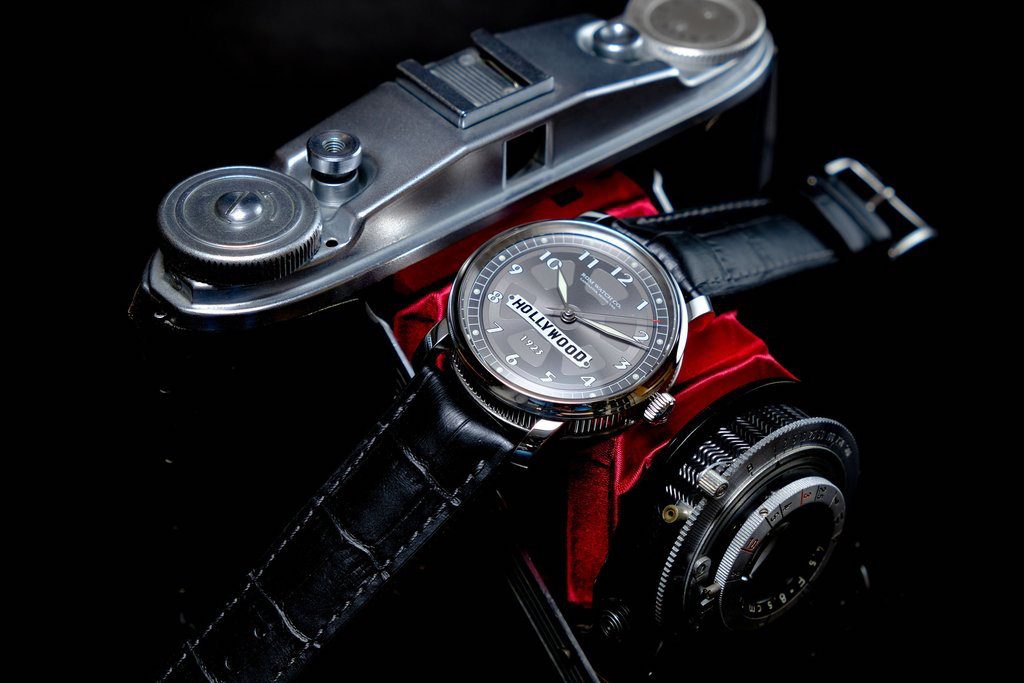The RGM Hollywood watch was made for Hollywood 1923 in a limited edition of 12 pieces.