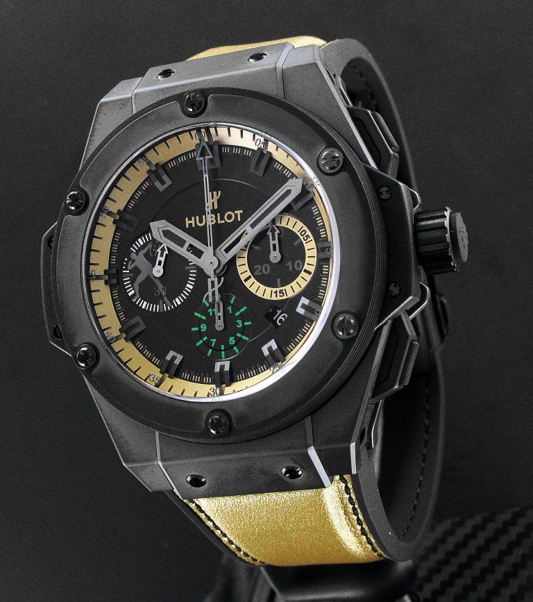 The new Usain Bolt Hublot watch