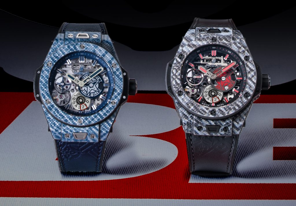 Hublot Meca-10 Shepard Fairey watches.