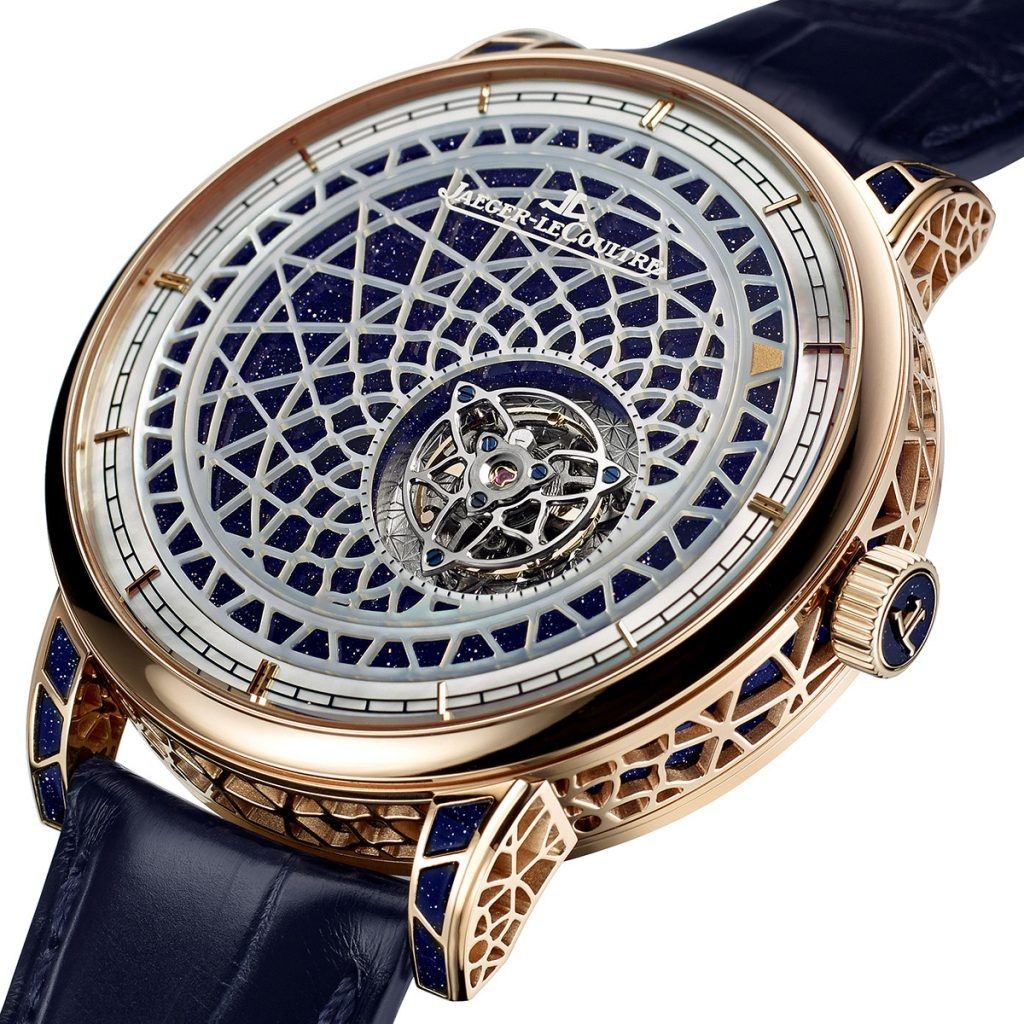The movement of the Jaeger-LeCoultre Hybris Artistica Mysterieuse consists of 441 parts.