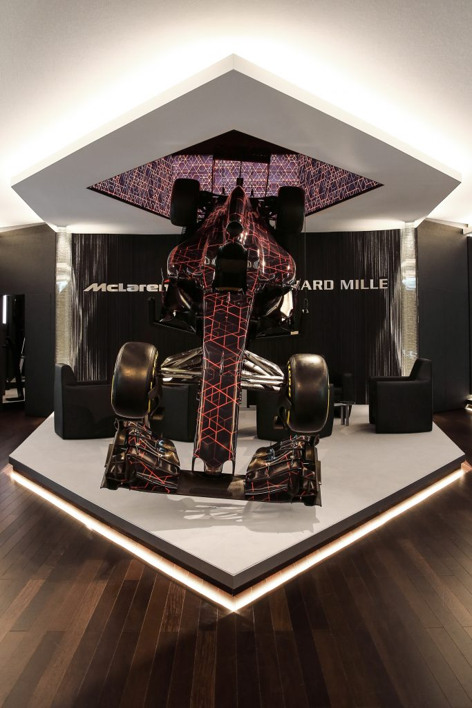 Richard Mille exhibition space at SIHH 2017