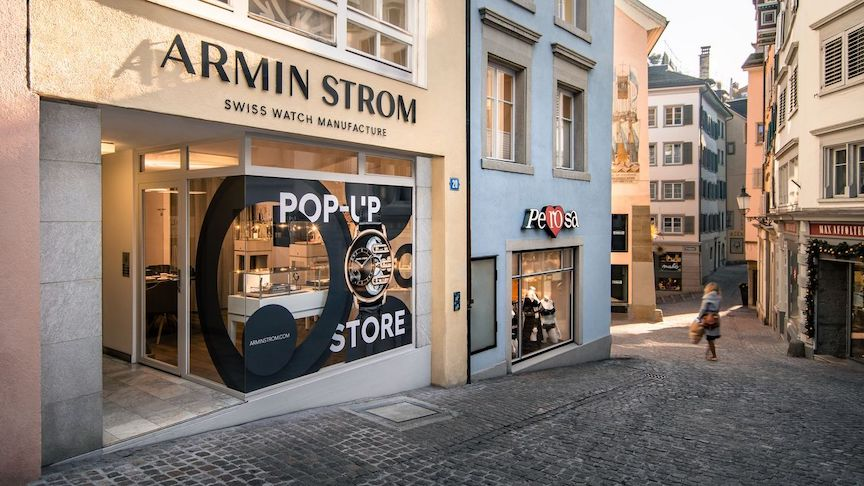 Armin Strom pop-up store