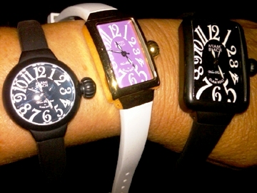 With A Vintage Feel Featuring Skinny Bands And Varying Case Shapes Ranging From Round To Square Barrel Rectangular All Of The Watches In This Line