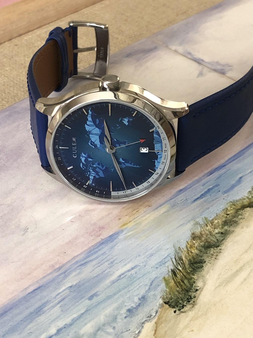 CuleM Portal GMT watch