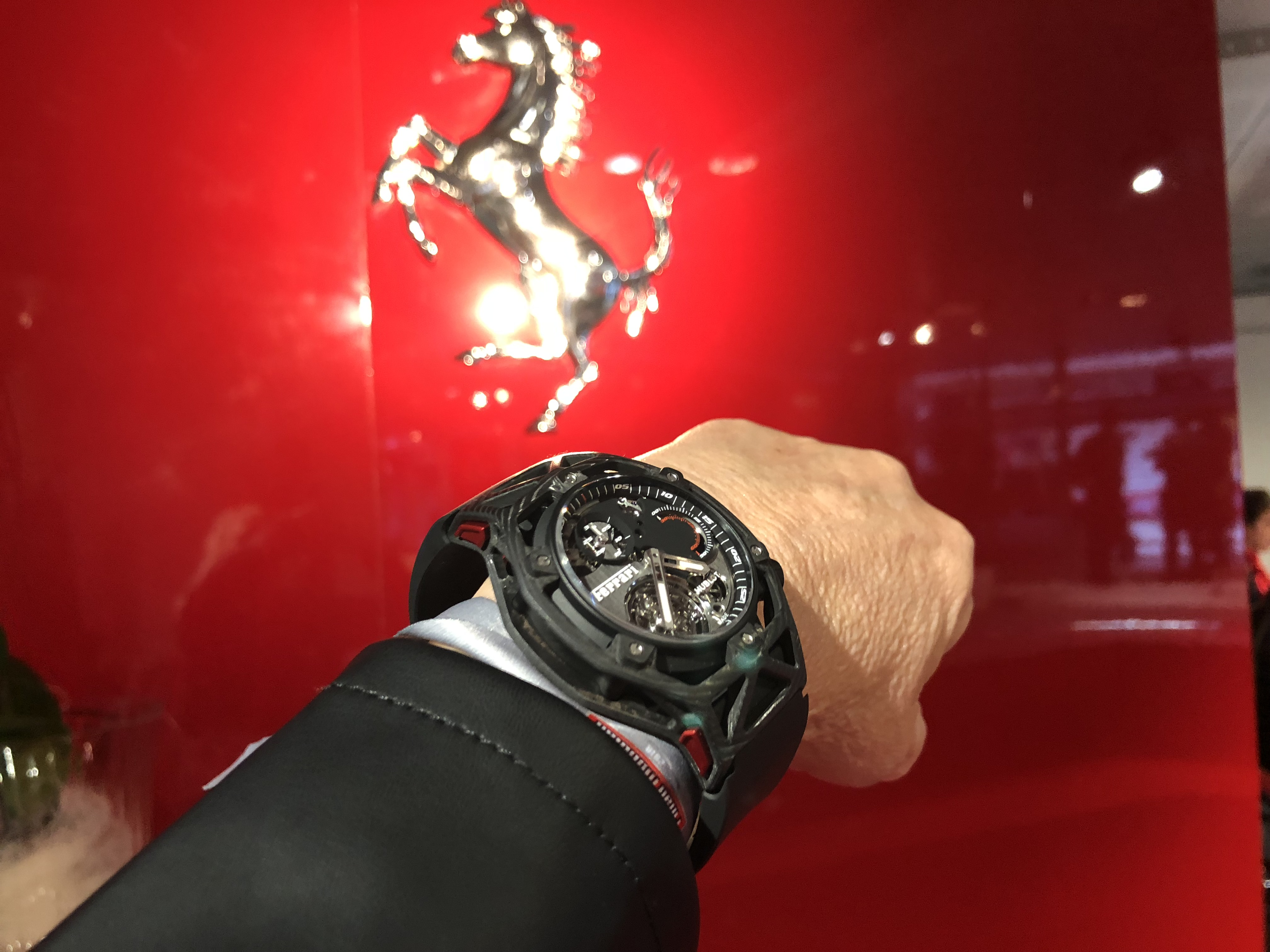Hublot Ferrari TechFrame Tourbillon