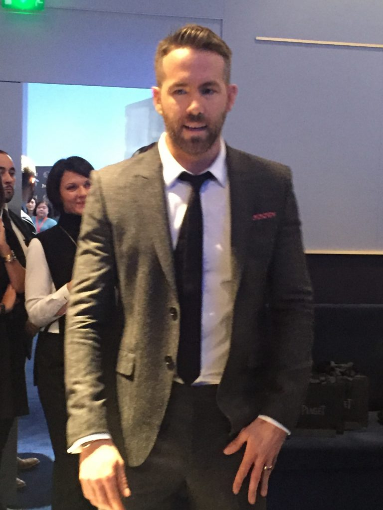 Ryan Reynolds at Piaget SIHH 2017