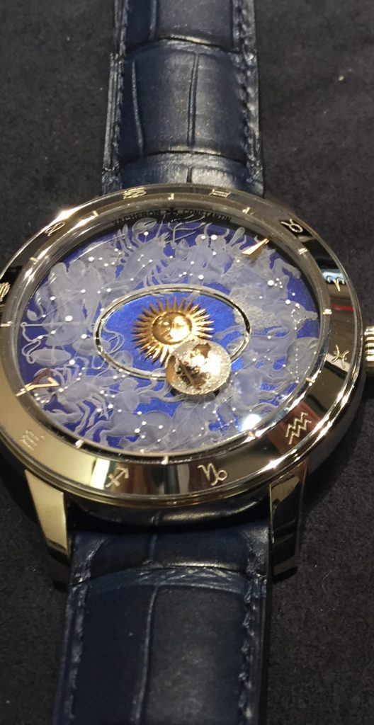 This dial version is laser engraved on sapphire and is a stunning take on the Copernicus.