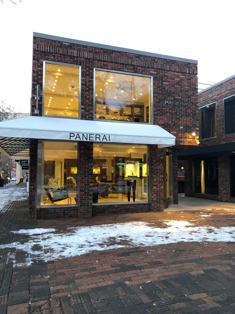 Panerai Boutique in Aspen