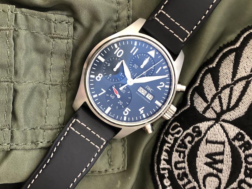 IWC Pilot Watch Chronograph 41mm , Watches & Wonders Geneva 2021
