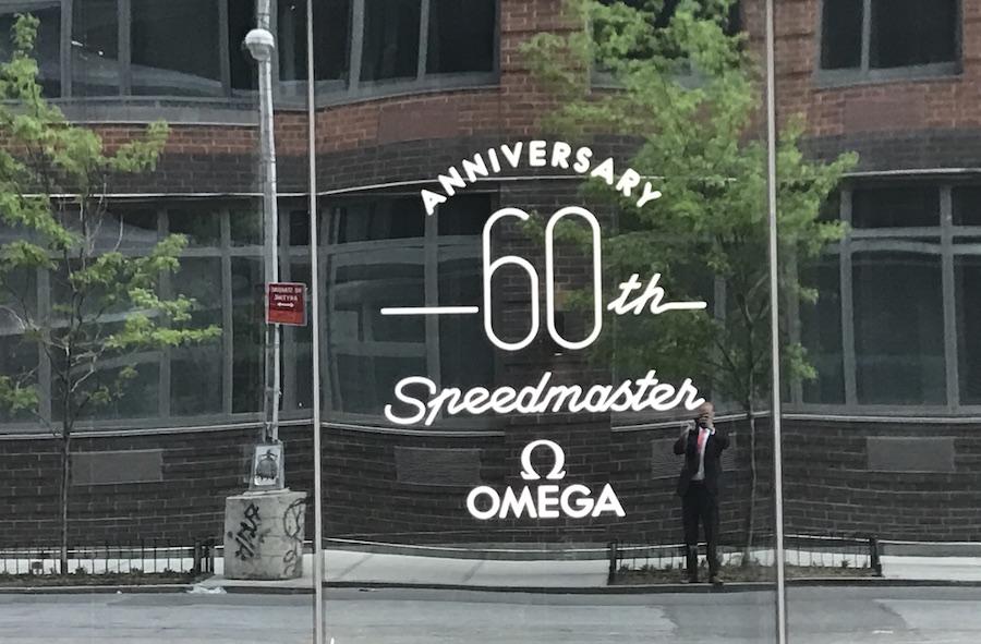 Omega celebrates 60th anniversary of the Speedmaster.